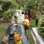 Photo taken at Tanah Perkuburan Islam Bukit Kiara by Erina N. on 3/12/2012
