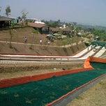 Photo taken at Kampung Gajah Wonderland by dhie z. on 8/23/2012