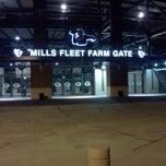 Photo taken at Mills Fleet Farm Gate @ Lambeau by Kurt J. on 8/15/2012