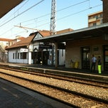 Photo taken at Stazione Chivasso by Paola F. on 7/24/2012