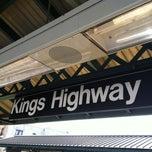 Photo taken at MTA Subway - Kings Highway (B/Q) by Zevie M. on 5/1/2012