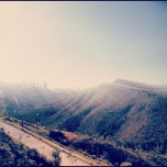 Photo taken at Vale dos Cristais by Tiago G. on 9/1/2012