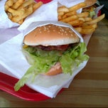 Photo taken at Apollo Burgers by Angel C. on 3/10/2012