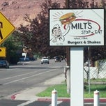 Photo taken at Milt's Stop & Eat by Matt B. on 9/8/2012