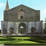 Photo taken at Tempio di San Fortunato by Giuliano I. on 9/1/2012