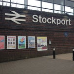 Photo taken at Stockport Railway Station (SPT) by Dava G. on 8/21/2012