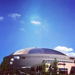 Photo taken at 福岡ヤフオク!ドーム (FUKUOKA YAFUOKU! DOME) by uzyyyy on 8/4/2012