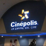 Photo taken at Cinépolis by Claudia M. on 4/6/2012
