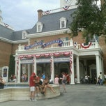Photo taken at The American Adventure by Kathi L. on 7/4/2012