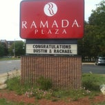 Photo taken at Ramada Plaza Hotel by Emily on 9/7/2012