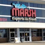 Photo taken at Marsh Supermarket by Jennifer on 3/10/2012