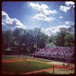 Photo taken at Foley Field by Katie M. on 4/1/2012