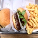 Photo taken at Shake Shack by Jackie B. on 9/3/2012
