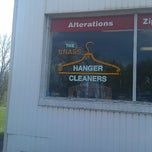 Photo taken at The Brass Hanger Cleaners by Randall Y. on 4/23/2012