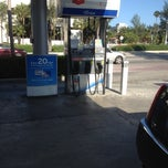 Photo taken at Chevron by Henri V. on 4/5/2012