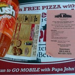 Photo taken at Papa John's Pizza by Mike The Janitor on 2/19/2012