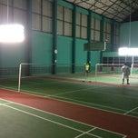 Photo taken at Pinehurst Badminton Court by ShyPon on 3/20/2012