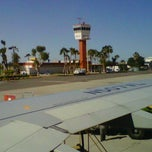 Photo taken at Aeropuerto Manuel Márquez de León (LAP) by Cristina F. on 2/6/2012