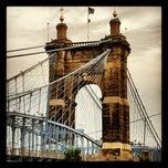 Photo taken at John A. Roebling Suspension Bridge by Cory S. on 6/10/2012