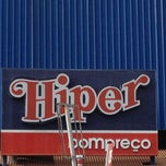 Photo taken at Hiper Bompreço by Luna R. on 7/26/2012