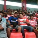Photo taken at Stadion Bangkalan by Yovie O. on 3/11/2012