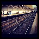 Photo taken at Метро Фили (metro Fili) by Andrey K. on 4/25/2012