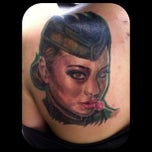 Photo taken at Chop Shop Tattoos by Theo B. on 4/24/2012