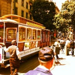 Photo taken at Powell Street Cable Car Turnaround by Chris H. on 5/5/2012