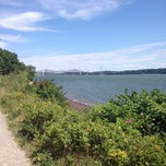 Photo taken at Plage Jacques Cartier by Chantale N. on 7/28/2012