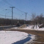 Photo taken at Assiniboine Park Zoo South Gate Tram Stop by Robin F. on 2/4/2012