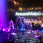 Photo taken at Mall Arauco Maipú by @ilusso on 6/10/2012