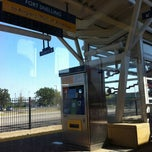 Photo taken at Fort Snelling LRT Station by Edwin R. on 8/27/2012