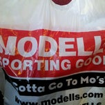 Photo taken at Modell's Sporting Goods by Michael P. on 2/28/2012