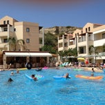 Photo taken at Creta Palm Hotel by Rob v. on 7/18/2012