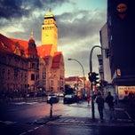 Photo taken at Rathaus Berlin-Neukölln by avtoportret on 7/19/2012