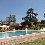 Photo taken at Poggio Alla Sala Resort Montepulciano by Simone P. on 7/6/2012