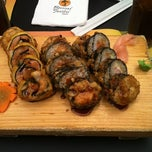 Photo taken at Bonsai Sushi by Gustavo C. on 5/12/2012