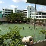 Photo taken at โรงเรียนทวีธาภิเศก (Taweethapisek School) by Panomkorn N. on 2/28/2012