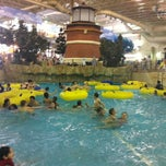 Photo taken at Water Park Of America by Lorna J. on 2/21/2012