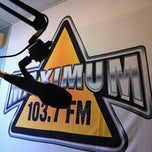 Photo taken at Maximum 103.7 FM by Yury P. on 8/24/2012