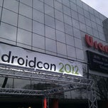 Photo taken at droidcon by Johannes P. on 3/14/2012