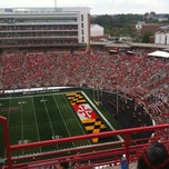 Photo taken at Capital One Field at Byrd Stadium by Paul R. on 9/1/2012