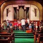 Photo taken at First United Methodist Church by Adam W. on 7/19/2012