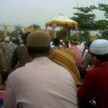 Photo taken at Mesjid Nurul Islam (KPR1 Perawang, Riau) by ferdian t. on 8/19/2012