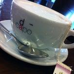 Photo taken at Casa Mia Café by Ashley P. on 4/1/2012