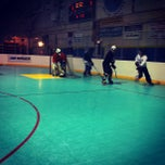 Photo taken at Water City Roller Hockey by Ashley P. on 4/11/2012