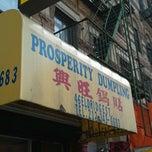 Photo taken at Prosperity Dumpling by John on 2/10/2012