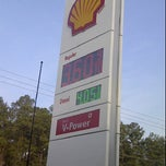 Photo taken at Shell by Marcus H. on 3/29/2012