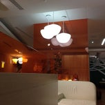 """Photo taken at Alitalia Lounge """"Giotto"""" by Michael L. on 5/13/2012"""