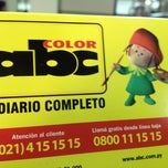 Photo taken at Diario ABC Color by Alvaro   on 4/11/2012